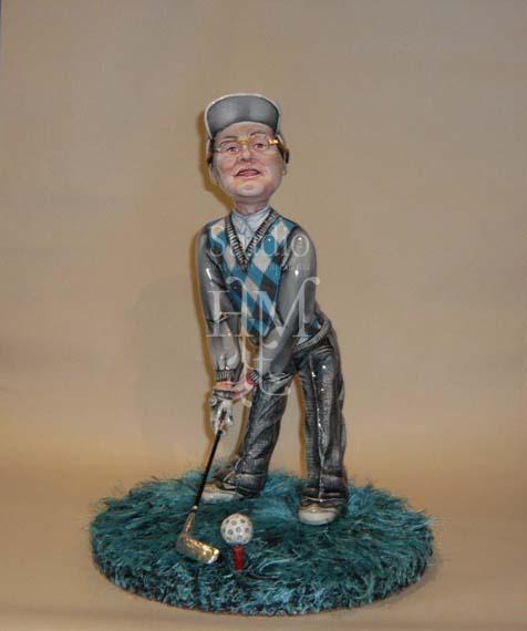 статуэтка гольфист