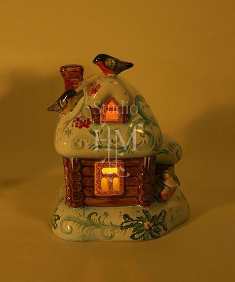 домик для свечи